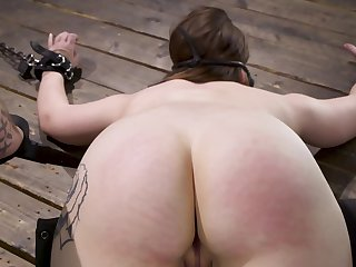 Hadley Mason is a floozy by nature who easily agrees be expeditious for BDSM front