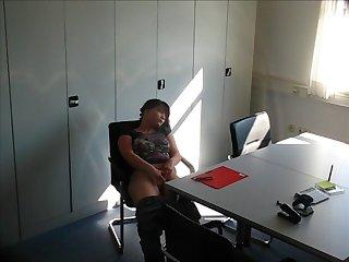 Vor der Besprechung mit dem Au pair girl