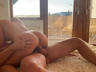 Homemade sexual relations with beautiful comme ci girl