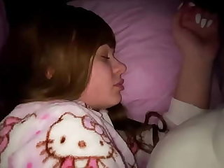 Fucked my daughter while we slept in selfsame bed